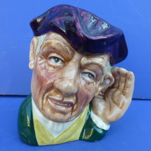 Royal Doulton Small Character Jug 'Ard Of 'Earing D6591