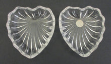 Baccarat heart shaped box and cover