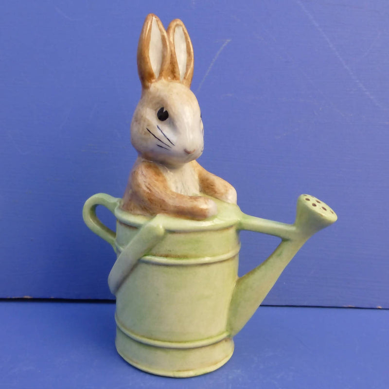 Beatrix Potter Figurine - Peter In The Watering Can (Boxed)