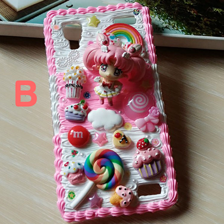 newest 7c99e efba0 Decoden Whipped Cream Sailor Moon DIY Phone Case LM36008 – LollyMomo