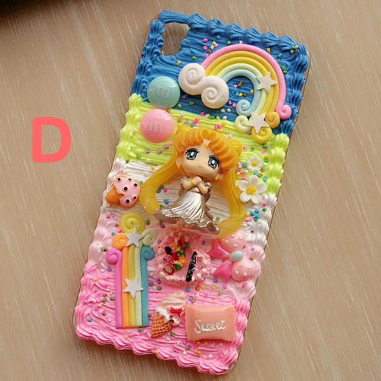 newest bd1bf 331f1 Decoden Whipped Cream Sailor Moon DIY Phone Case LM36008 – LollyMomo