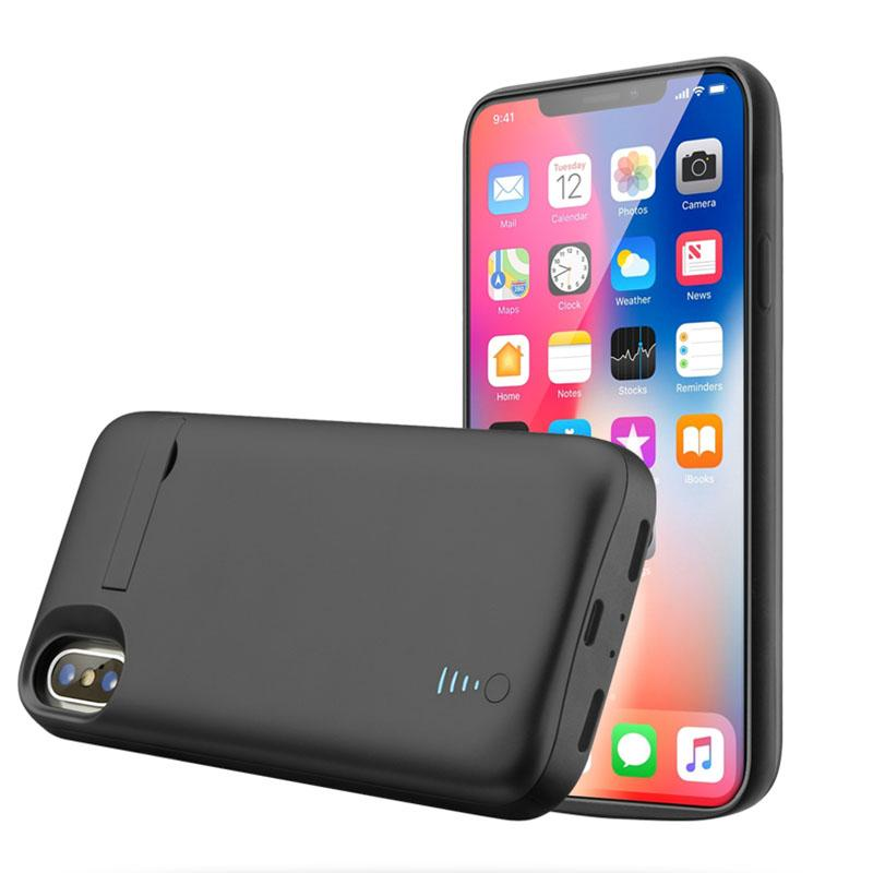 iPhone XS Battery Case (5000 mAh) - Plus Battery Cases