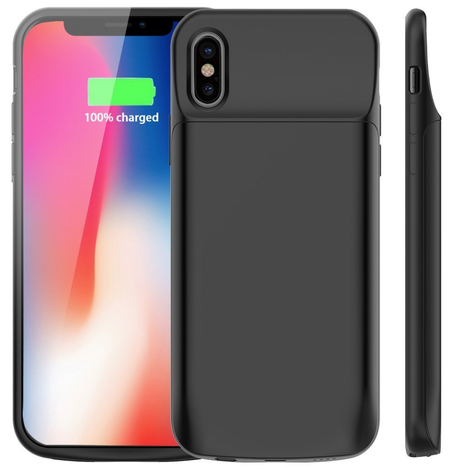 iPhone XS Battery Case (6000 mAh) - Plus Battery Cases