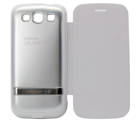 **CLEARANCE** Samsung Galaxy S3 Battery Extender Case w/ Flip Screen Cover (3200 mAH) - Plus Battery Cases