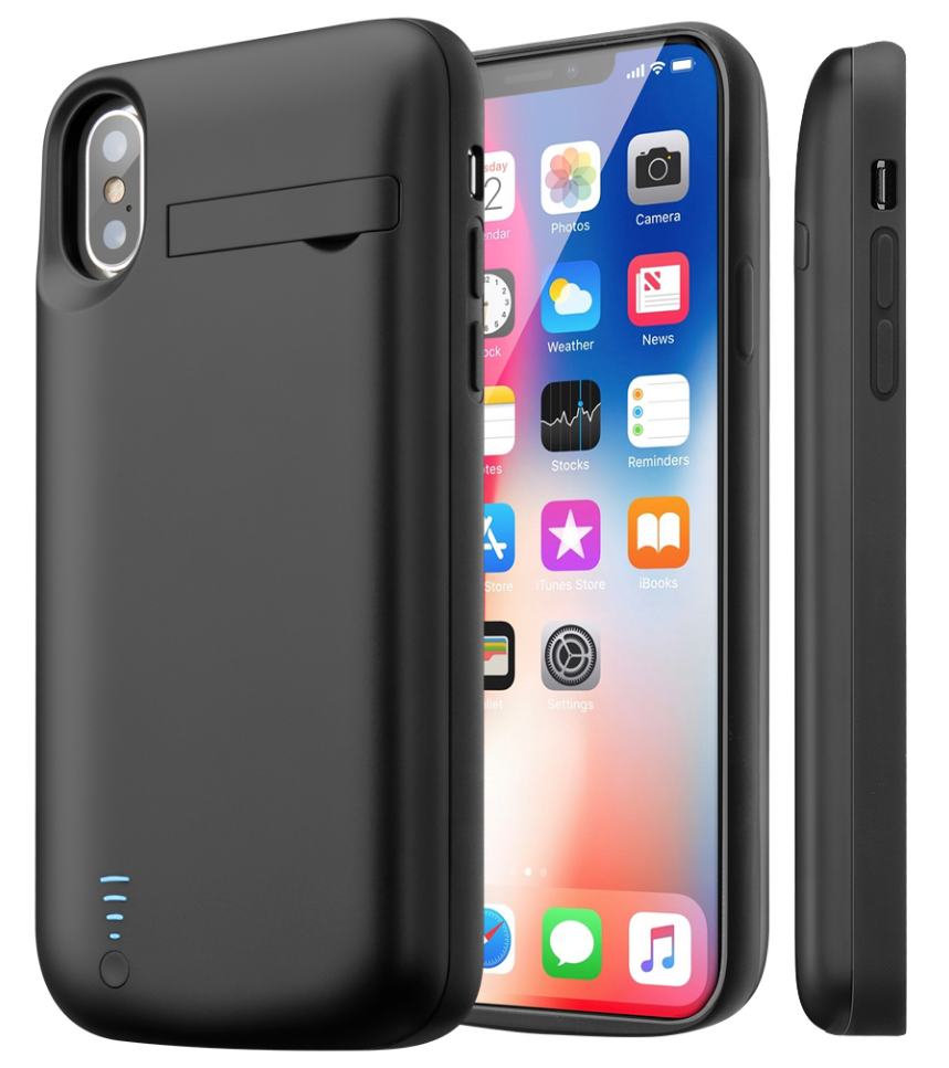 iPhone X Battery Case (5000 mAh) - Plus Battery Cases