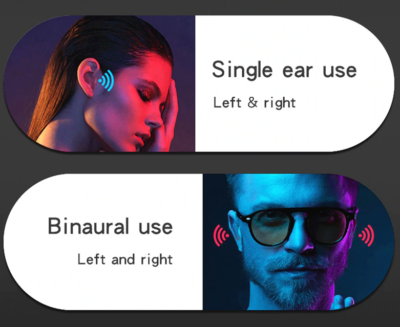 PlusPods Advanced Wireless Bluetooth TWS Earbuds