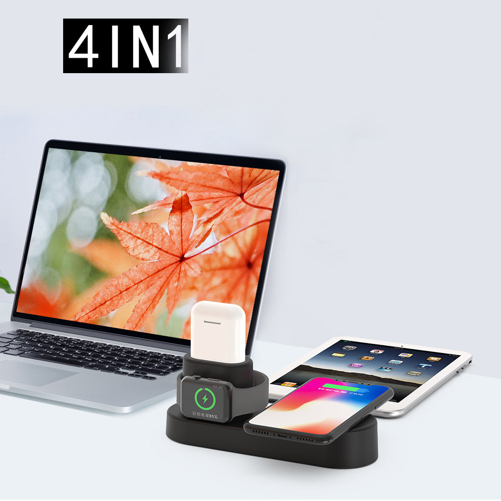 PlusPower 4-in-1 Wireless Charging Stand