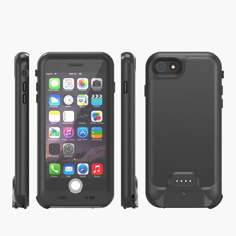 iPhone SE Battery Case: Waterproof & Wireless Charging (3000 mAh) | 2nd Generation (2020)