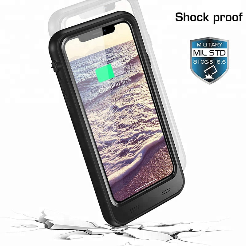 iPhone X Battery Case: Waterproof & Wireless Charging (3400 mAh)