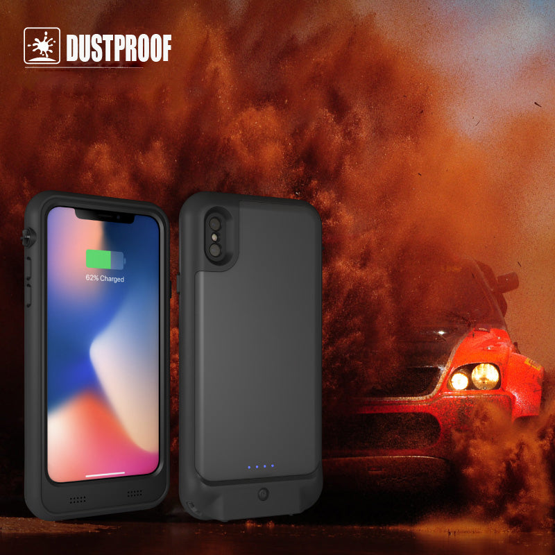 iPhone 11 Pro Max Battery Case: Waterproof & Wireless Charging (4800 mAh)