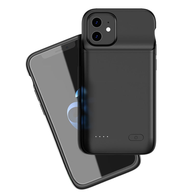 iPhone 12 Mini Wireless Charging Battery Case (4700 mAh)