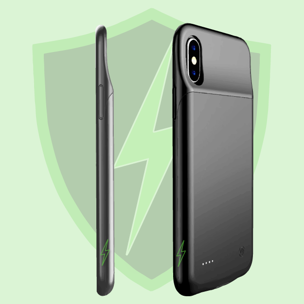 iPhone XS Max Battery Case (5000 mAh) - Plus Battery Cases