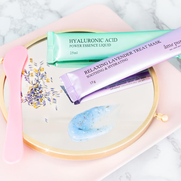 Jelly Glow Rubber Mask™ - Lavendel