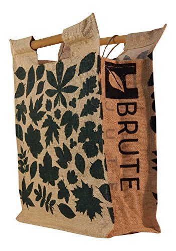Brute Jute Eco-friendly Bamboo Handle Grocery Tote Bag - Earth Styles