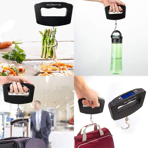 Mini Digital Portable Electronic Luggage Hook Hanging Scale