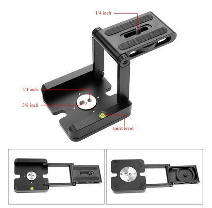 Foldable Z Trpod for DSLR Camera Product Photography