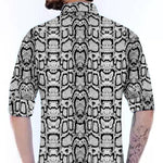 Stylish Multicoloured Silk Blend Printed Long Sleeves Regular Fit Casual Shirt For Men