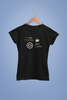 COFFEE & CODE BLACK T-SHIRT FOR WOMEN
