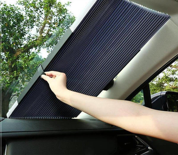 SlideShade® - UV Protection Retractable Car Shield Cover