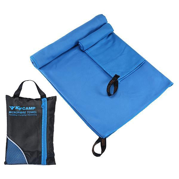 Larger Size Microfiber Travel Sport Towel Set