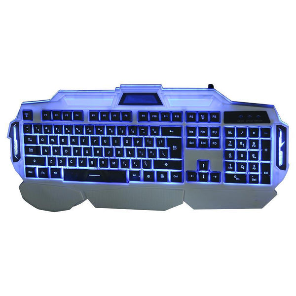 Red/Purple Light Pro-Gaming Keyboard.