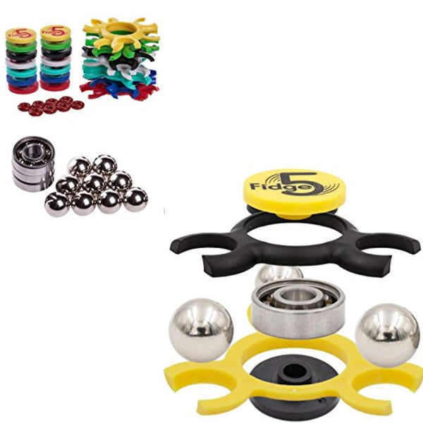 Build Your Own Fidget Spinners - 14 Piece Kit