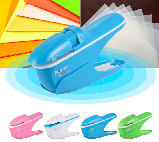 7 Sheet Staple-Free Mini Stapler