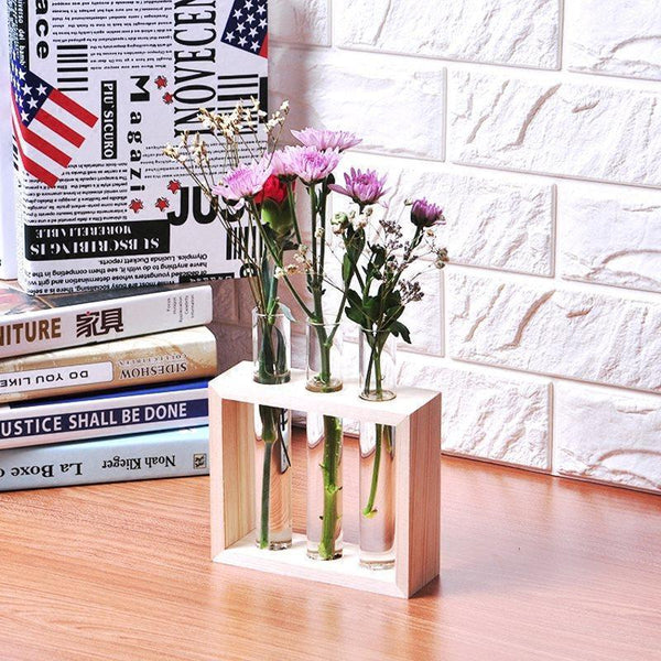 Hanging Test Tube Vase