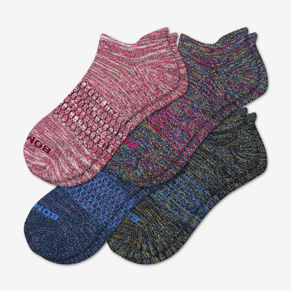 Women's Space Dye Ankle Sock 4-Pack