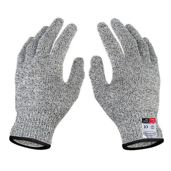 1 Pair Safety Cut Resistant Gloves Food Grade Level