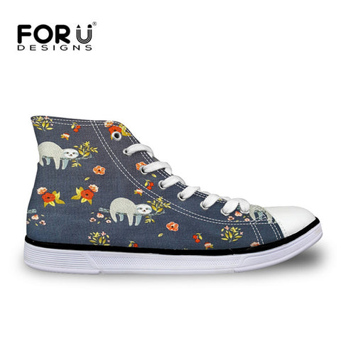 Classic High Top Sloth Womens Shoes