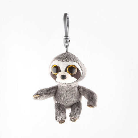 "Sloth Keychain Stuffed Plush Doll 4"" 10cm"