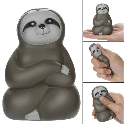 Adorable Soft Sloth Scented Stress Ball Toy