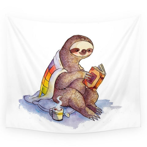 Sloth Wall Tapestry