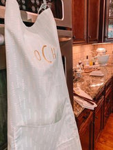 Olivia Mint Arrow Womens Baking Apron with Personalization Option