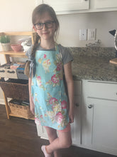 Child Size Fiona Floral Apron with Personalization Option