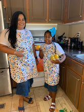 Teen Size Splash Baking Apron with Personalization Option