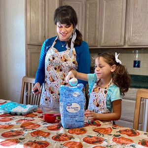 Child Size Gobble Gobble Baking Apron