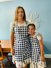 Childs Navy Blue Perfect Baking Apron with Personalization Option