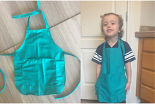Wouldn't you know it? Toddler Baking Apron with Personalization option
