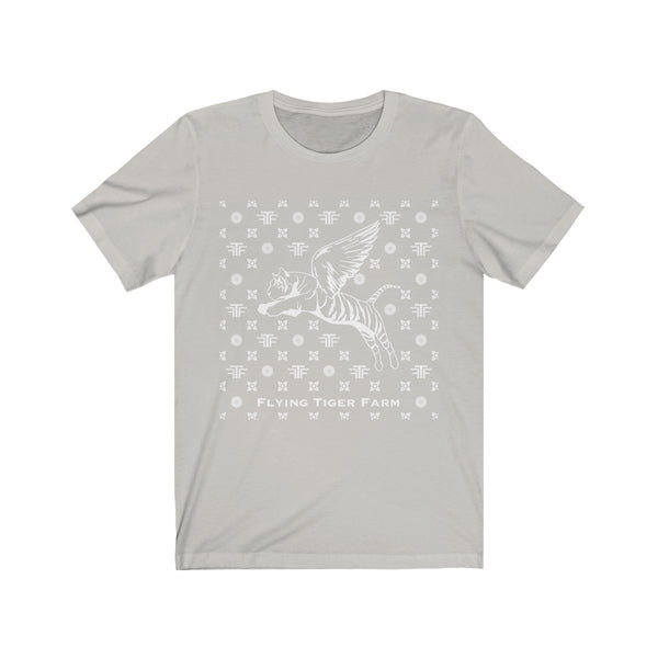 Copy of Flying Tiger Men's White/Silver Tee