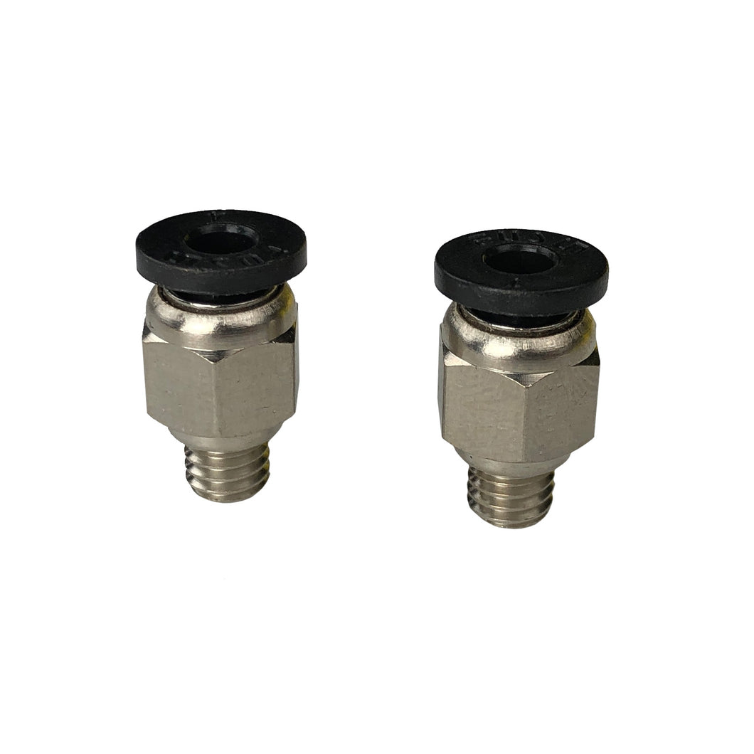 2x M6 Bowden Fittings