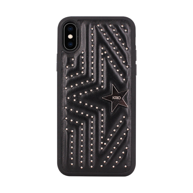 Rivet_with_Leather_iphone_cases