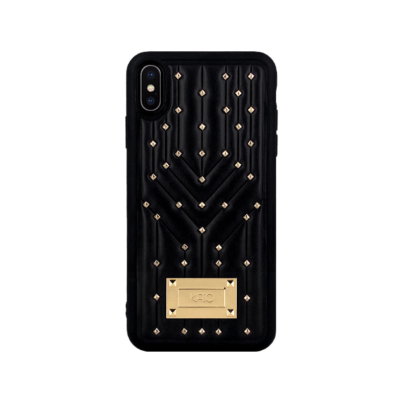 kasoworkshops_constellation_rivets_leather_cases_soft_case_for_iphone_huawei_black