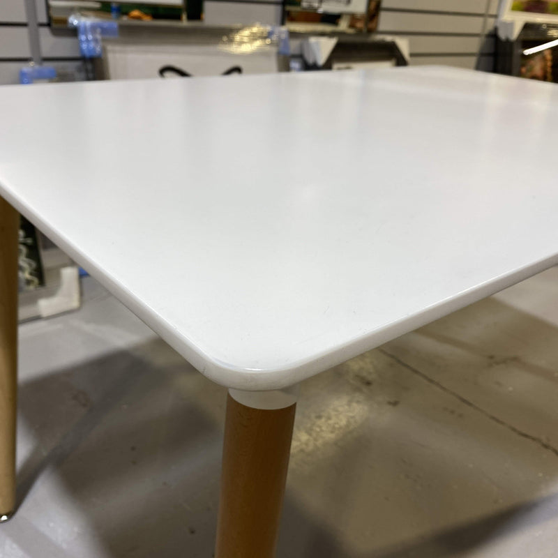 Malmo White Dining Table CLEARANCE