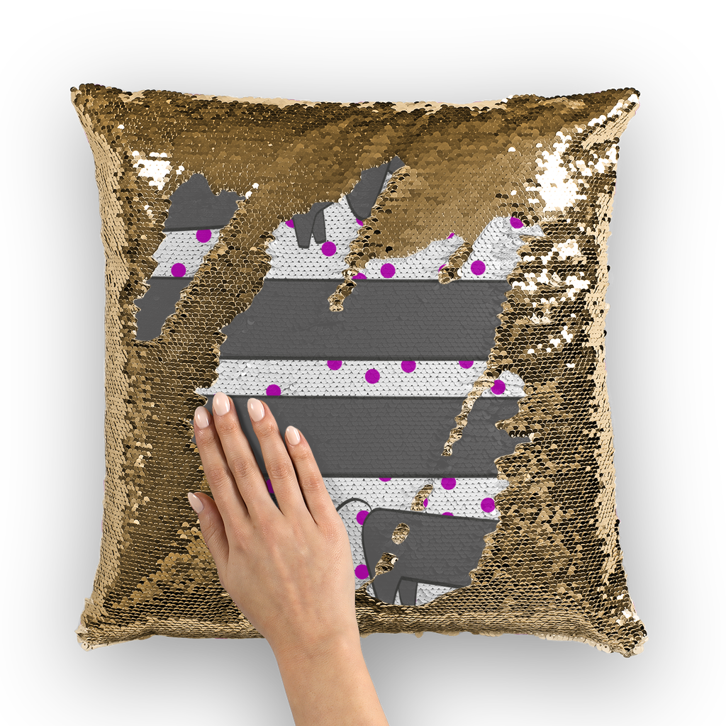Weenies  Sequin Cushion Cover