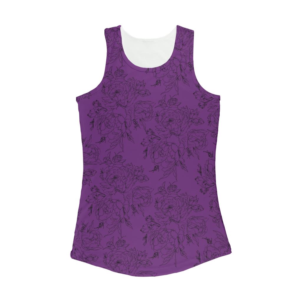 Floral Women's Performance Tank Top