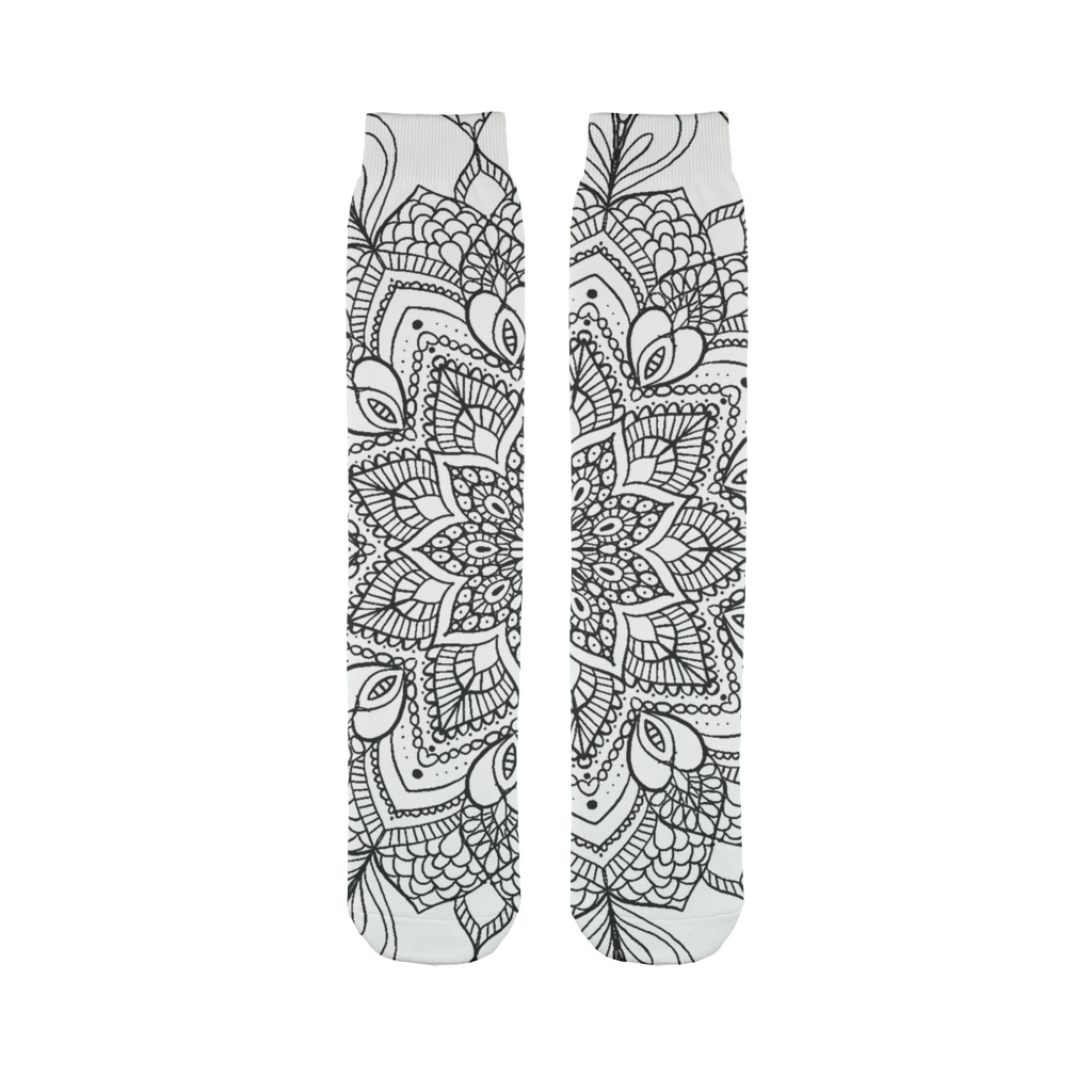 Mandala Tube Sock