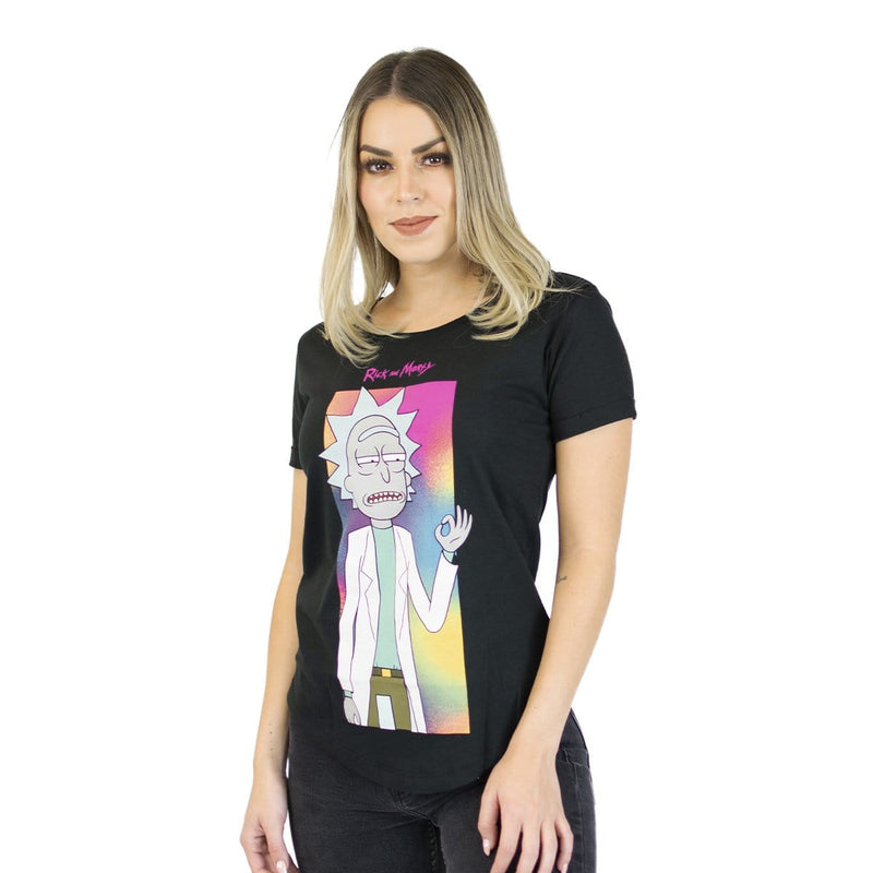Playera Dama Mdl Rick & Morty Cigarrillo - Epicland  (4562321080433)