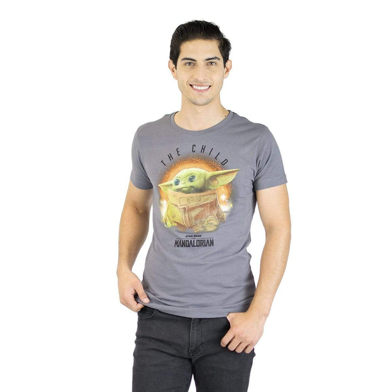 Playera Caballero Exclusiva Gráfico The Child Color - Epicland  (4491116740721)